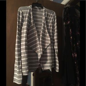 J Crew Striped Cardigan Size XL